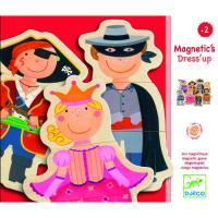 Puzzles magnétiques enfants déguisés