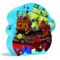 Puzzle bateau de Barbe Rousse
