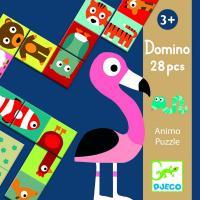 Puzzle Domino Animo