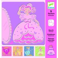 Pochoirs Les Princesses