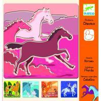Pochoirs Les chevaux