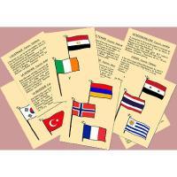 A qui sont ces drapeaux........