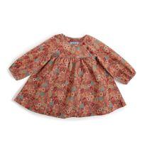 Elodie robe velours fleurs