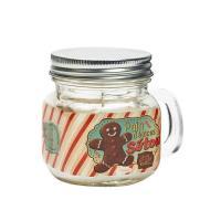 Bougie Mason jar Pain d'épices
