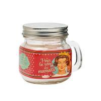 Bougie Mason Jar Pour la reine des mamans