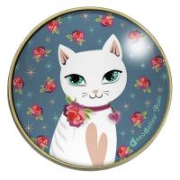 Boîte à bijou Chat Blanc