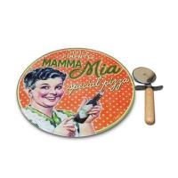 Plat à Pizza Mamma Mia