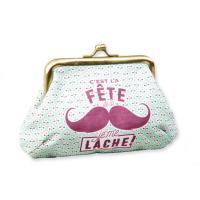 Porte monnaie Moustache