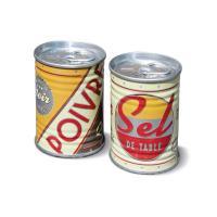 Conserves salière et poivrière Vintage