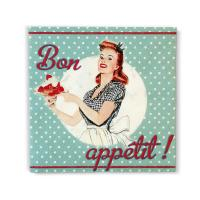 Serviettes en papier Miss Fifties