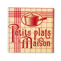 Serviettes papier Petits plats maison